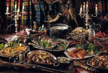 Fancy food