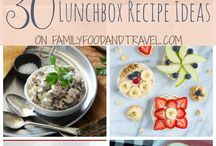 School lunch & snack ideas / If your kids are board with the usual sandwiches for lunch, here you'll find lot of delicious recipes for their lunch boxes that are not sandwiches.