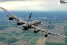 The Lancaster Bomber / The Mighty Lancaster of  Dam busters fame / by Paul Breakell