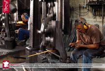 Les EPV et le patrimoine indutriel / Exposition photo sur le patrimoine industriel des Entreprises du Patrimoine Vivant, créée dans le cadre des Journées Européennes du Patrimoine 2013.