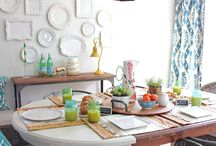 The Orchard: Dream Diners: Shabby Chic Vintage / Dining room interior design ideas we simply love...