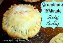 Pastry/Pie Crust/Pies