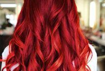 """""""hair color"""" / toute sorte de couleur capillaire (les naturel, les originale, les excentrique....)"""