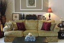 Living room ideas / Decor wall