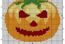Cross Stitch-Halloween