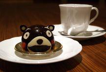 Chocolate cakes (Kumamon ver.) / yum yum...