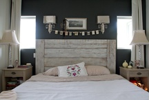 reclaimed wood headboards