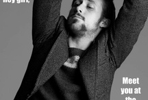 Obligatory Ryan Gosling Board / Ryan Gosling. Because every Pinterest account should have a board just for him. ;)