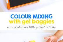pre-escolar: as cores