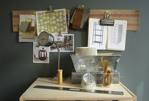 workspace / by Christine Mangosing