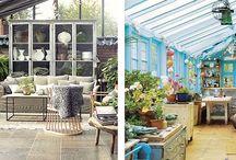 Terrazas y patios