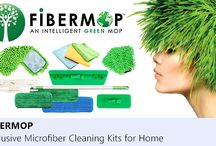 Fibermop / Fibermop® is a revolutionary, green cleaning system of microfiber products for home. The system is designed to replace virtually all existing cleaning products at once. Microfiber pads have been proven to be more efficient than traditional ones and do not require any cleaning solutions or detergents. The system is not only green, it is also economical and leads to significant savings over time. #fibermop, #microfiber