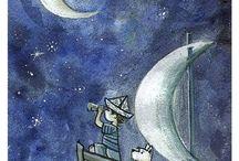 fondo obscuro / sea night