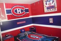 Chambre Will go habs go canadien de Montréal