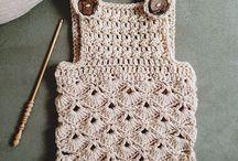 Crochet romper