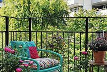 Decoração - Área externa / Varanda Goumet / Inspirações para decorar a área externa como o terraço e varandas gourmet de casas e apartamentos
