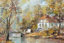 Obrazy / Podziwiane pejzaże w malarstwie rożnych artystow