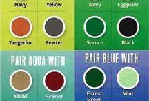 Uso colori e abbinamenti
