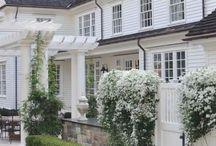 beautiful house with beautiful garden.