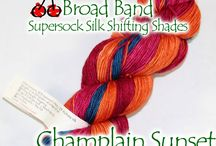 New Broad Band Yarns / New Broad Band yarns from Cherry Tree Hill
