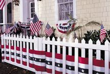 4th of July Decorating Ideas / 4th of July Decorating Ideas for the home and 4th of July Tablescape ideas for parties