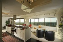 High-Rise Remodel by Mary Calvin / Builder: Steve Hoods with Steve Hood Company  Cabinet Designer: Kelly Ziehe and Mary Calvin