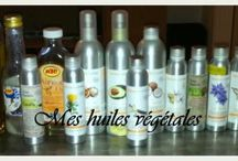 les huiles vegetales