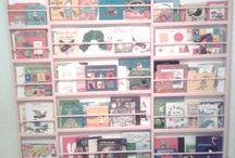 Mobilier / Bibliothèque murale enfant