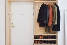 hall storage ideas