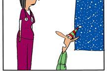 Humor:  Nursing & Medical / by Jelinn McGee