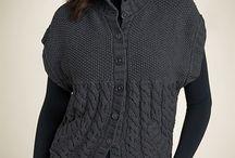 svetry pletení