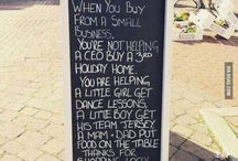 Absolute Green Thoughts to Ponder / Supporting small businesses.