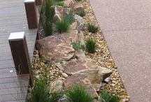 Dry creek bed Landscape designs