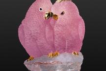 Gemstone birds