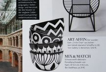 VOGUE . 1/2015 . page 213 . frjor bowls . black and white / frjor . six bowls - six different patterns   porcelain . height 8cm . diameter 14cm . capactiy 725ml . weight 449g