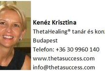 ThetaHealing® oktatás és konzultáció / ThetaHealing® technikát használom arra, hogy gyors és hatékony változásokat hozzak magam és mások életében. További info: www.thetasuccess.com