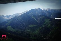Flying in Tatra Mountains