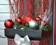 dekorácie na vianoce