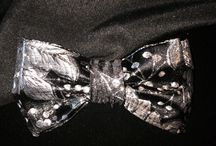 Sophisticated Bow ties / These will make people take a double take