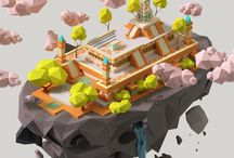 Awesome low poly stuff