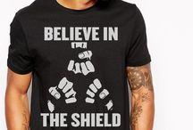 wwe believe in the shield t shirt