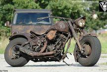 Rat bike, rat rod.