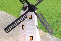 Outdoor Decorative Garden Solar Light Led Home Light Decor Summer Sun Windmill