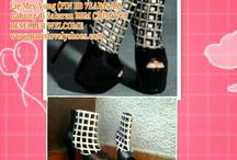 Sample and Real Product from Paris Lovely Shoes