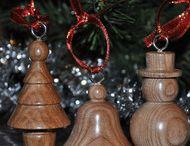 Palle di Natale legno