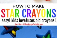 crayons craft