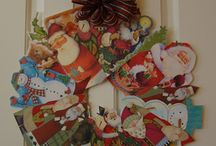 Christmas-reuse old cards