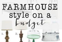 Modern farmhouse look