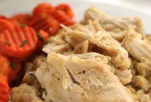 4 ingredient crock pot chicken dressing
