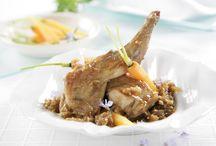 Recetas con carne de conejo / Sabrosos platos con carne de conejo
